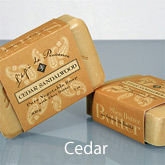 Cedar French Soap