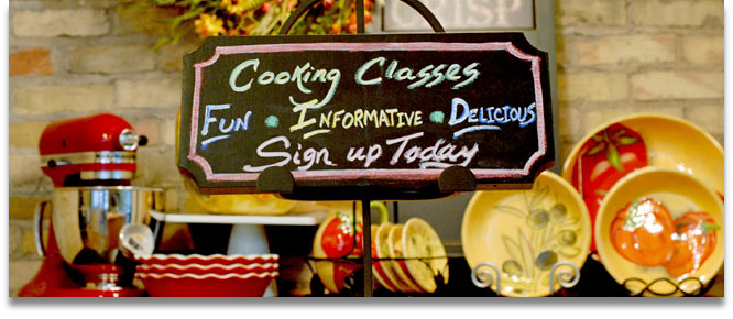 Culinary Classes - Year Round